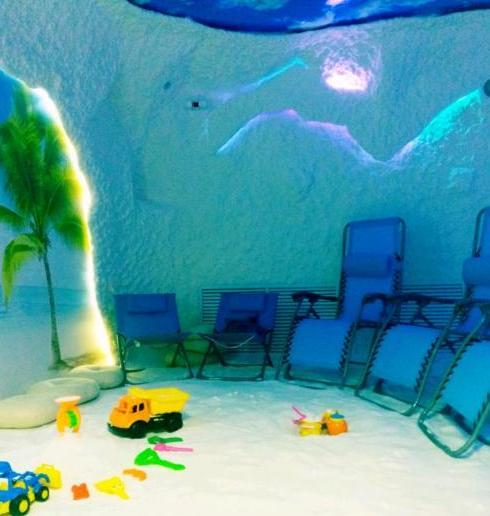 Соляная пещера детям до 6 лет