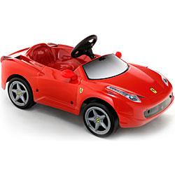 Детский электромобиль Toys Toys Ferrari 458 Italia